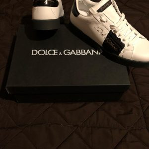 D&G white shoes