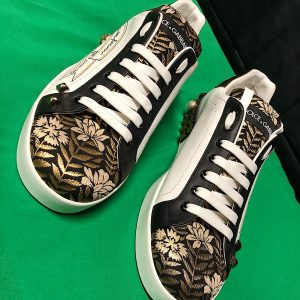 Embellished floral low top Dolce & Gabbana – Limited Edition