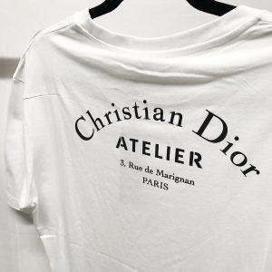 T-shirt Atelier Dior blanc